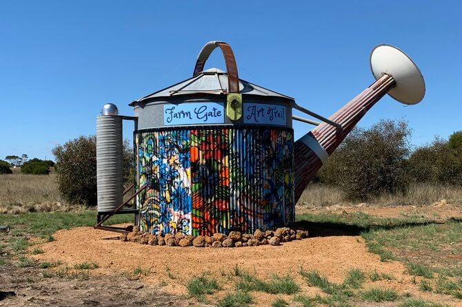 Water Can Farm Gate Art