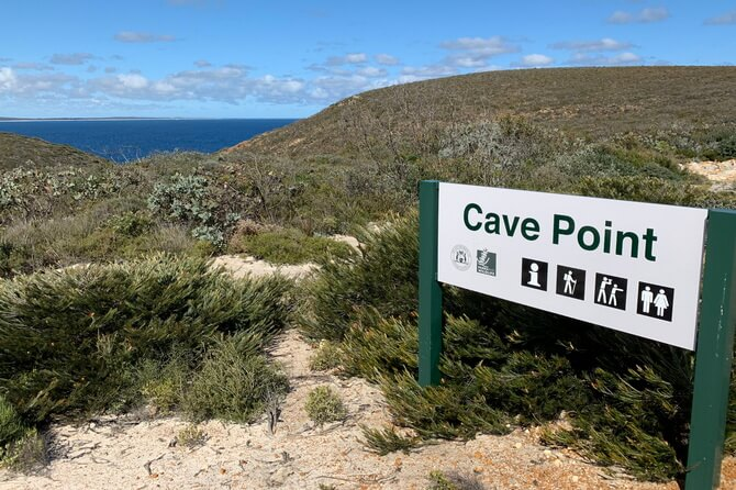 Cave Point access