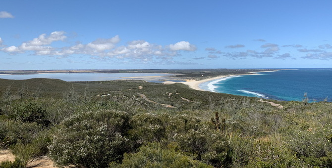 Fitzgerald National Park Panoramic View