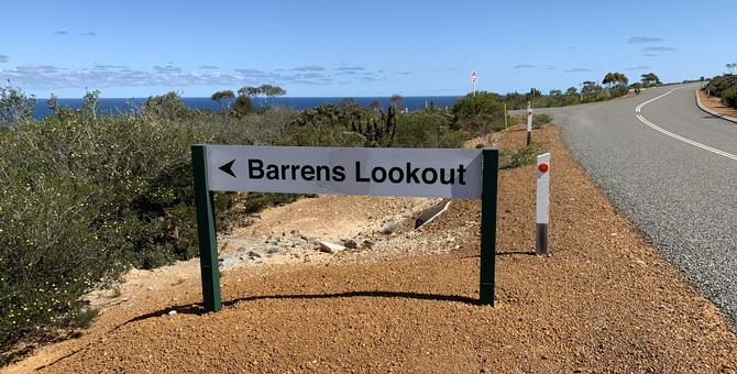 Barrens Lookout